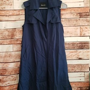 Madewell xs navy blue vest